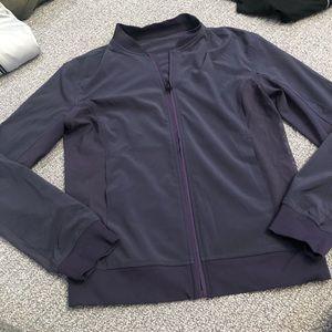 Lululemon purple mesh jacket